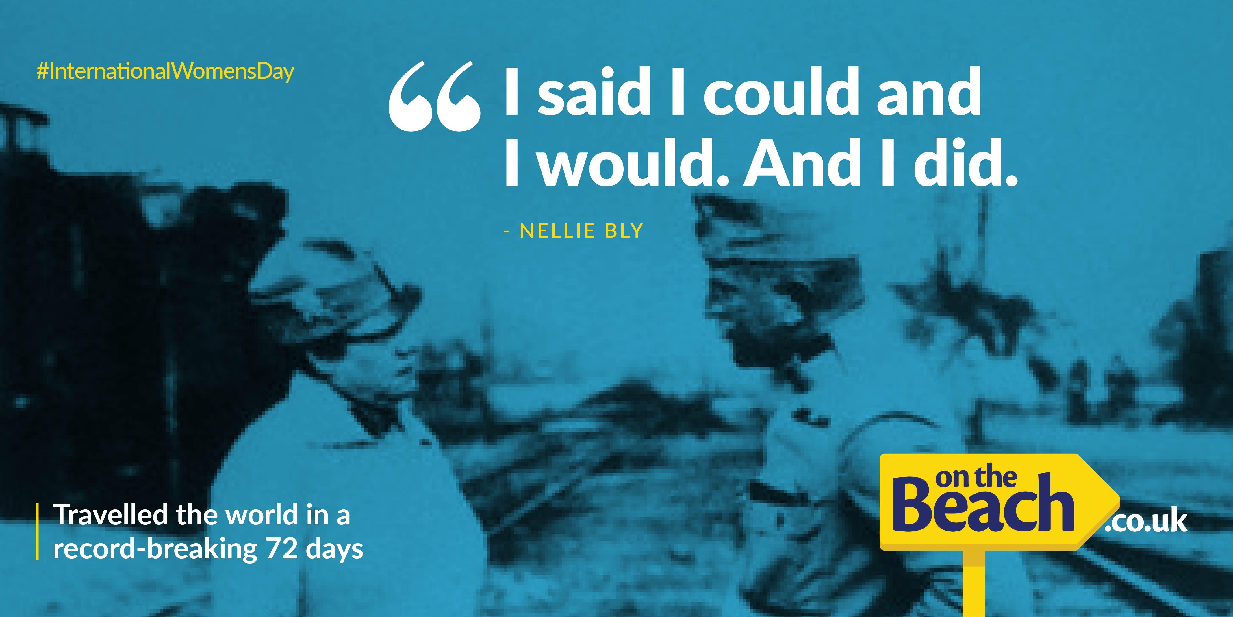 International Women's Day - Nellie Bly