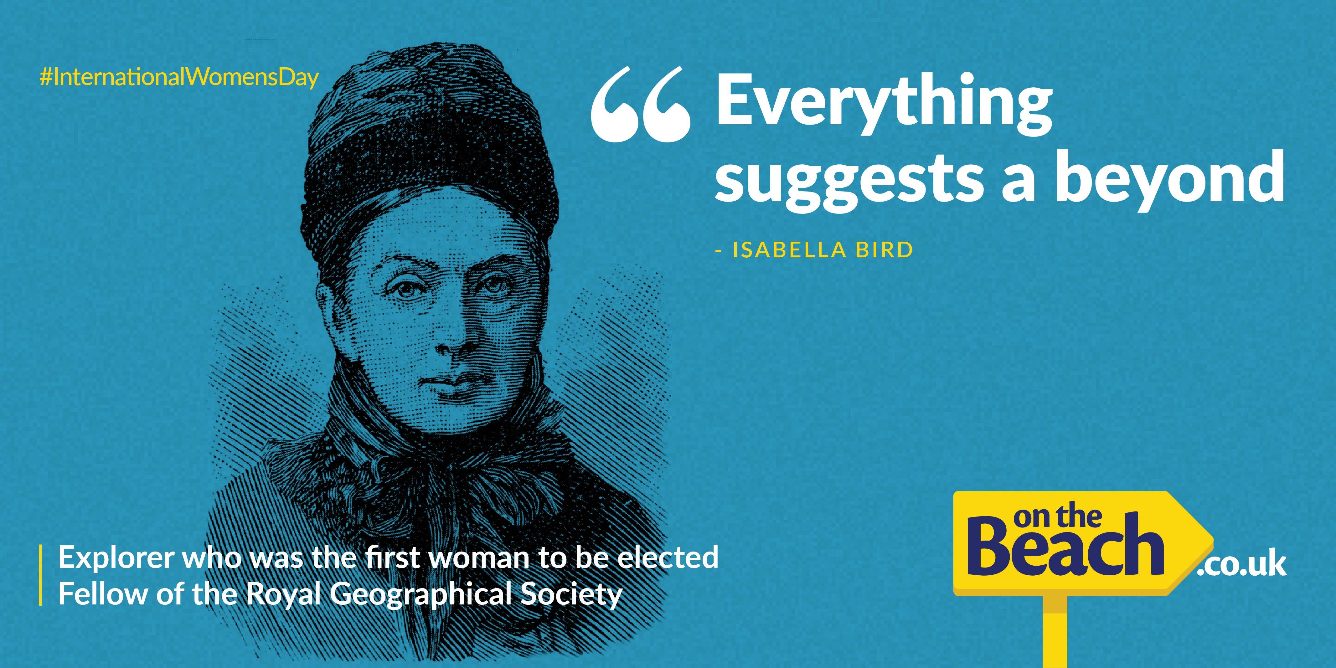 International Women's Day - Isabella Bird