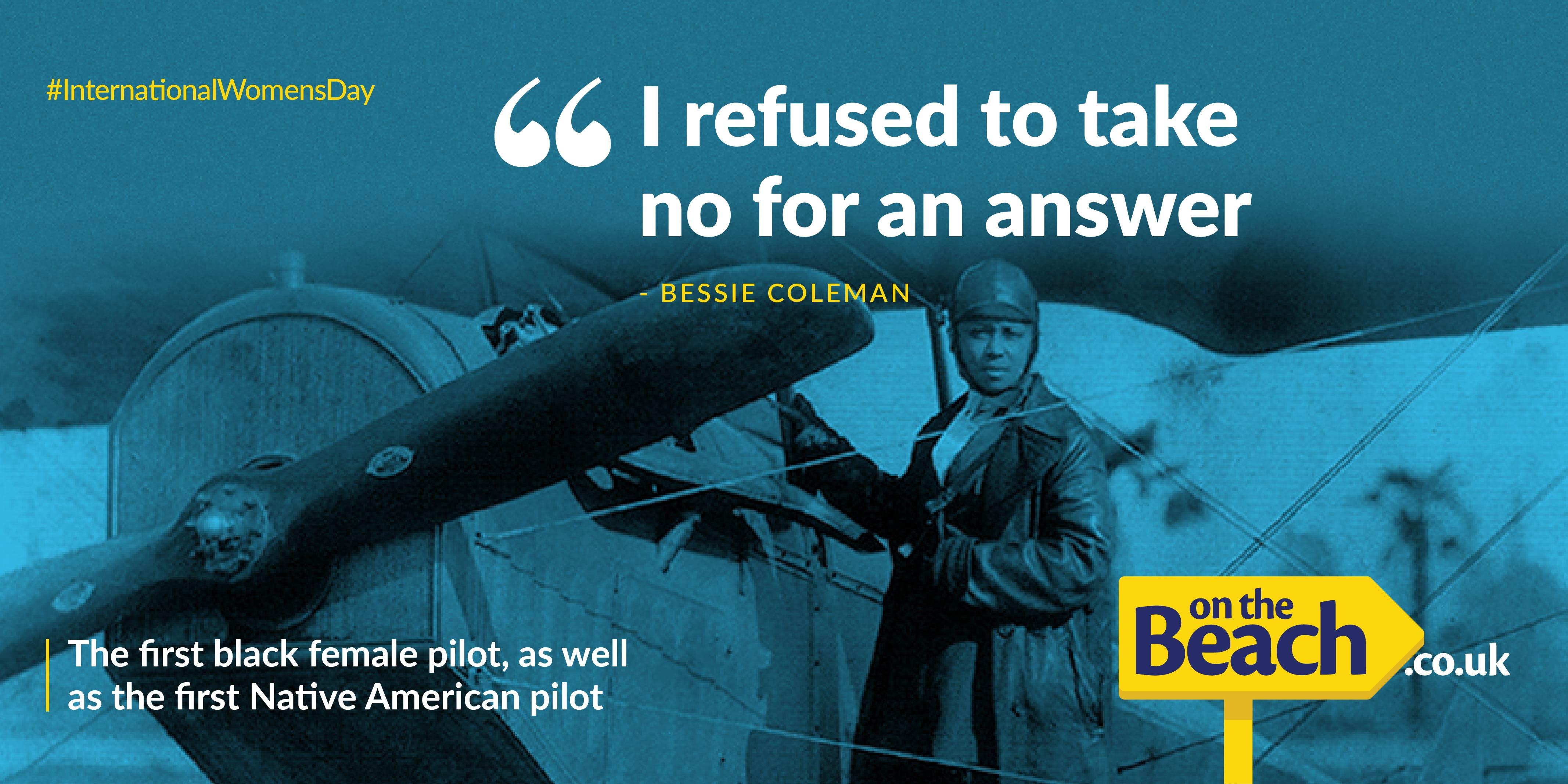 International Women's Day - Bessie Coleman