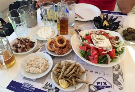 Top three Greek Islands for food lovers