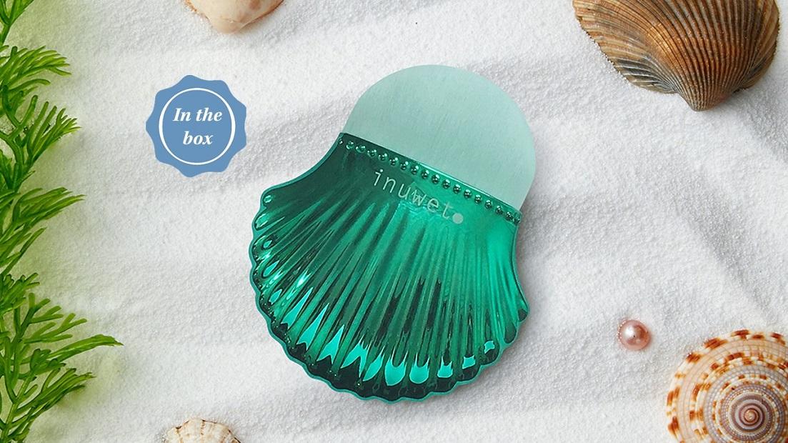Glossybox shell brush