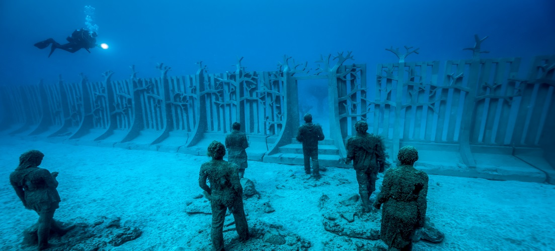 things to do in Lanzarote underwater museum