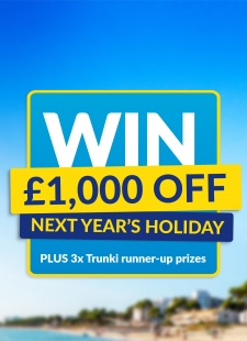Win £1,000 towards next year's holiday…
