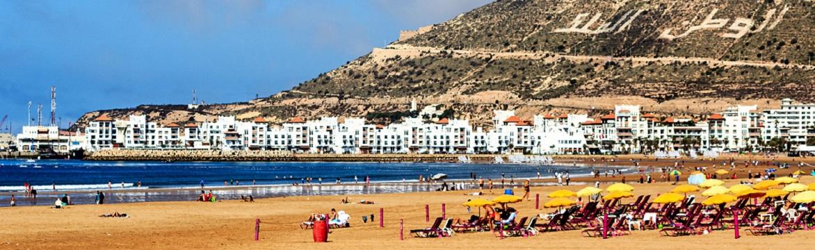 Agadir on a budget - Agadir Beach